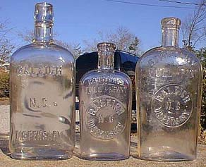 3 Raleigh NC Dispensary bottles