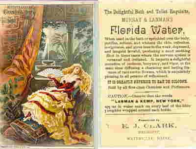 Murray Amp Lanman Florida Water Victorian Trade Cards