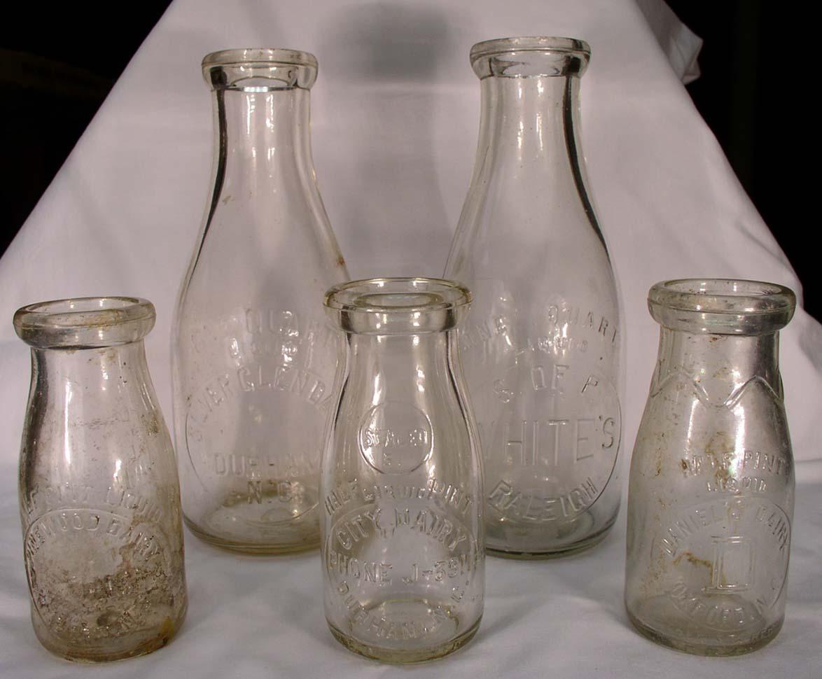 Old Dairy Milk Bottles 104